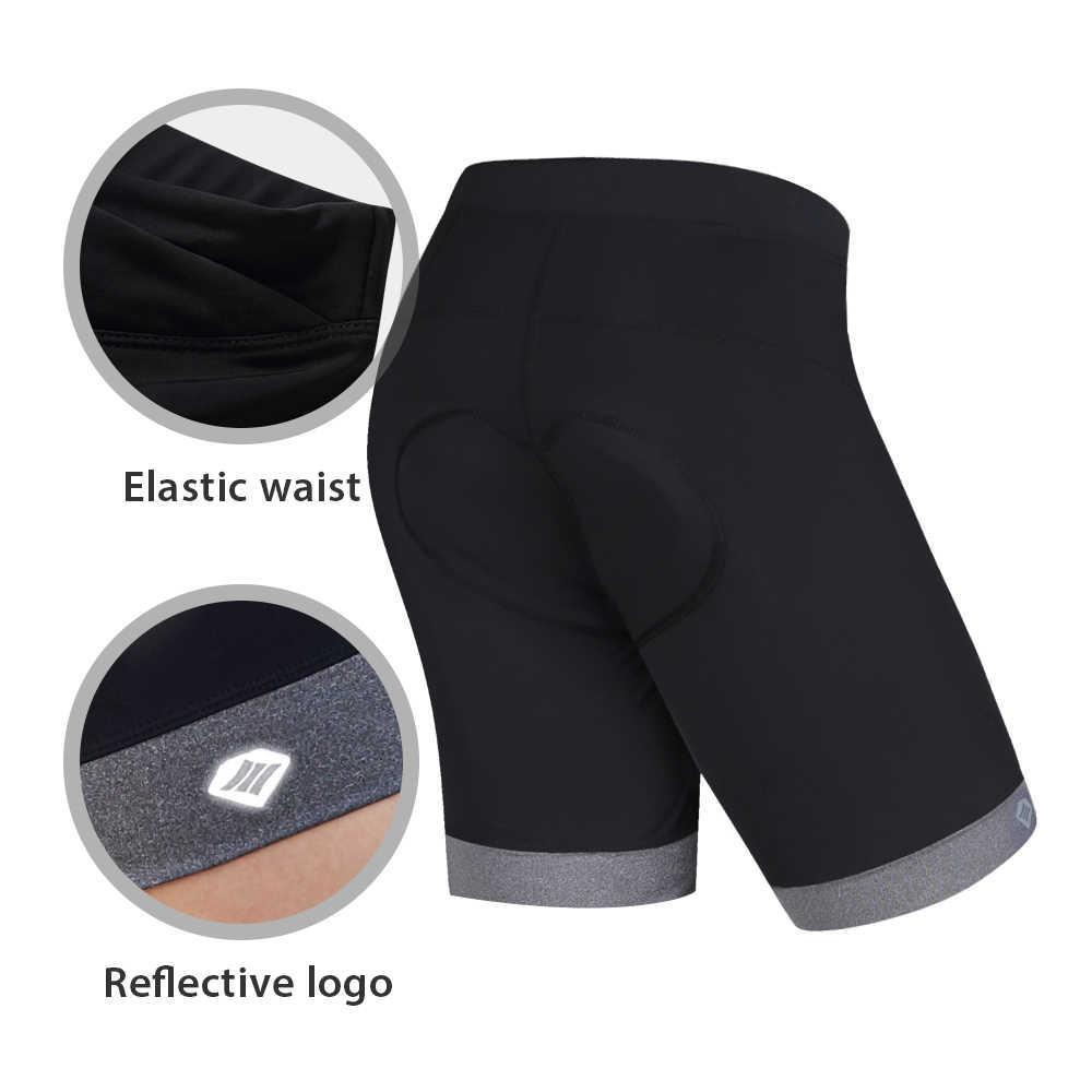 "Santic נשים רכיבה על אופניים מכנסיים מרופדים פרו Fit Coolmax 4D Pad עמיד הלם אנטי pilling כביש MTB רכיבה קצר בארה""ב גודל KS6009W"
