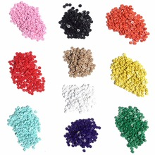 (2000pcs/lot) Mixed color 4mm Mini Buttons Round Shape/Childs Hobby/Scrapbook embellishments