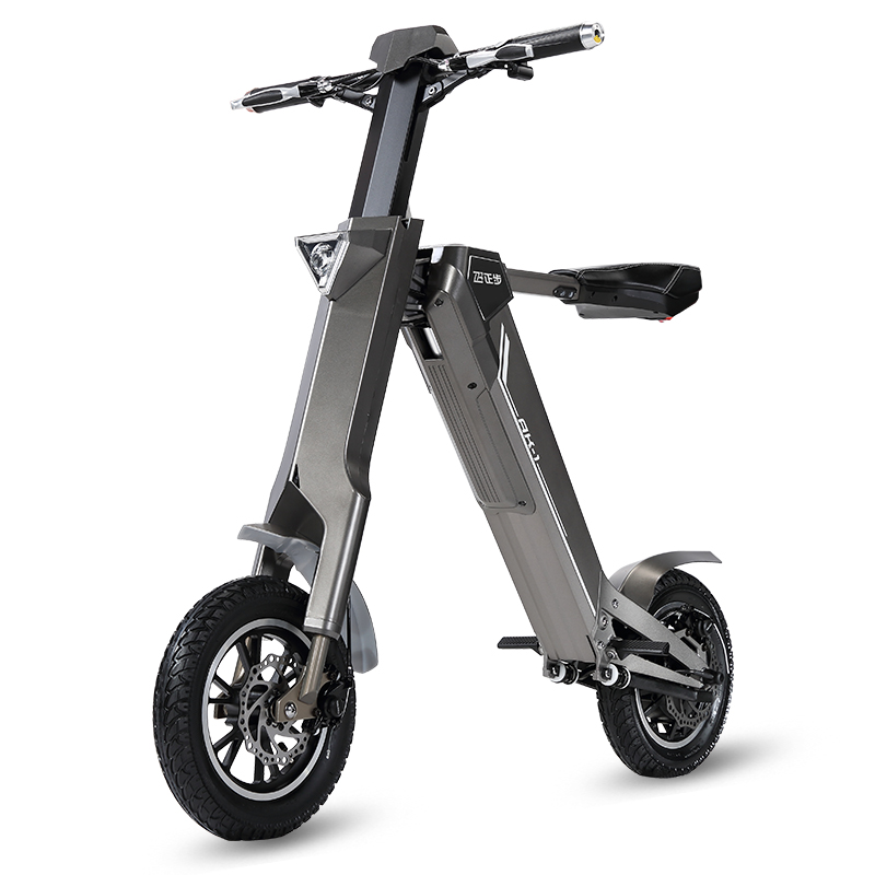 32793faef13 12inch electric bike 240w motor smart electric scooter 48V lithium battery  smart folding electric bicycle to cycling ebike