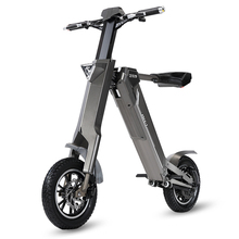 12inch electric bike 240w motor smart electric scooter 48V lithium battery smart folding electric bicycle to cycling ebike