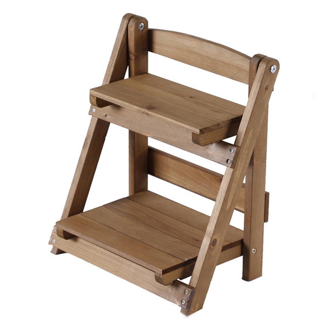 VICTMAX 2018 nueva caliente Mini madera maciza Mesa almacenamiento ...