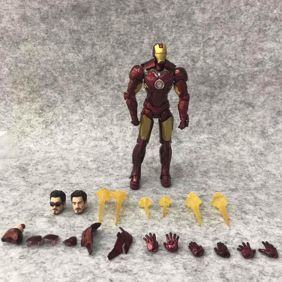 Marvel Железный человек MK4 Tamashii сценический диван фигурки подарки игрушки