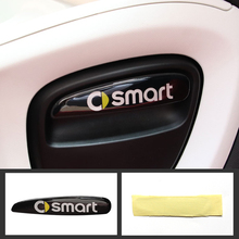For smart 453 fortwo forfour Automotive interior Modification accessories car styling Car creative 3D decorative sticker