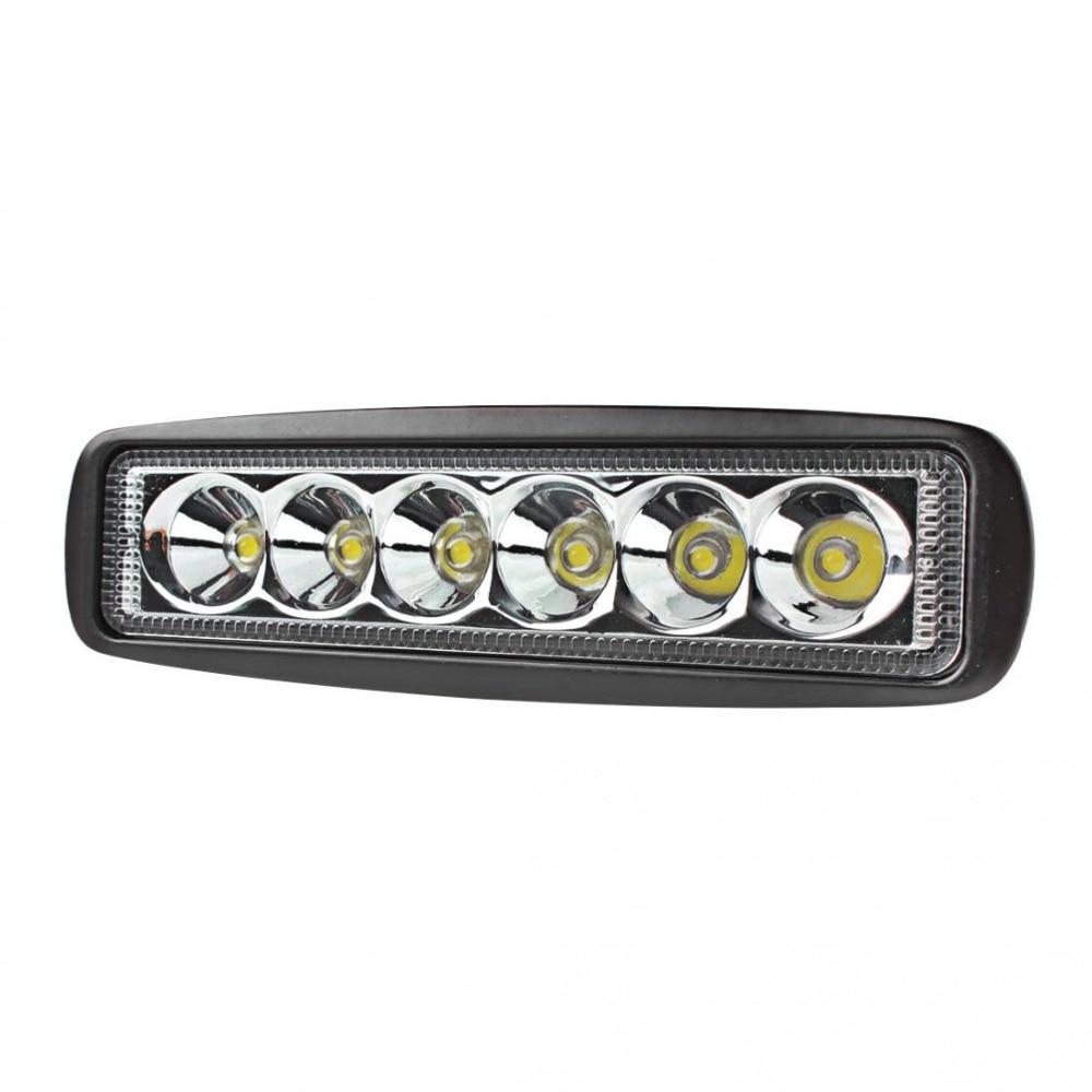 Dayanıklı Evrensel 1550LM 6 Inç 18 W 6000 K Araba LED İş Işık - Araba Farları - Fotoğraf 4