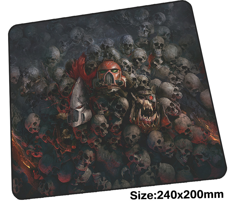 warhammer 40k mouse pad gamer 240x200mm notbook mouse mat New arrival gaming mousepad large Boy Gift pad mouse PC desk padmouse