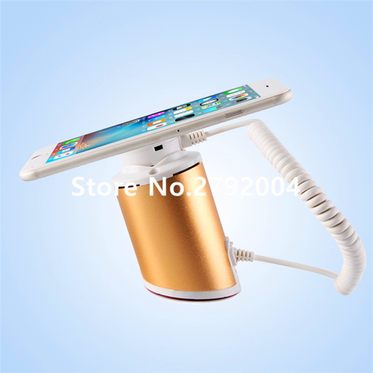 5 set/lot Universal CellPhone Anti-theft System Mobile Phone Display Secure Stand For phone/Samsung/Huawei Retail Alarm Device