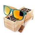 Venda quente Famosa Marca das Mulheres Óculos De Sol De Madeira de Bambu Original Viajante Tartaruga-escudo óculos de sol na Caixa de Presente