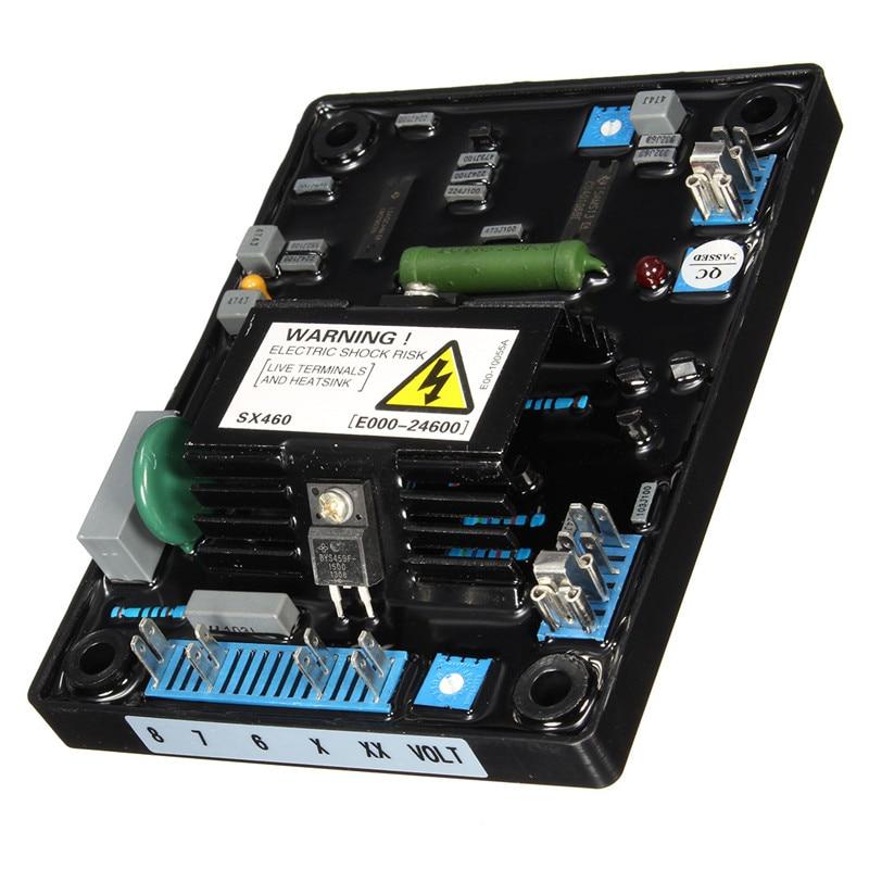 AVR SX460 Automatic Voltage Volt Regulator Replacement For Stamford Generator Single Phrase Generator Jumper Selectable Popular stamford generator avr sx460