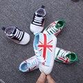 Nuevo ocio de primavera y otoño zapatos de bebé nuevos muchachos y niñas calzado deportivo el primer paso Walker niños lienzo shoes0-12 mes