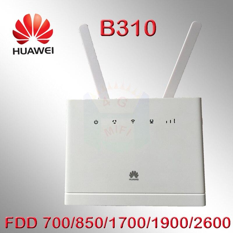 Débloqué Huawei B310 B310s-518 150 Mbps 4g LTE CPE WIFI ROUTEUR Modem avec Fente Pour Carte Sim b310s pk b890s-65 b890 b890s-66