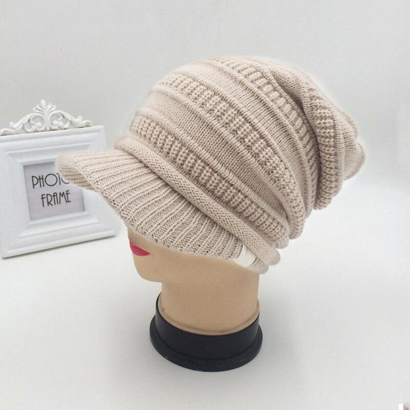 Aliexpress.com: Comprar 2018 invierno cálido sombrero de punto ...