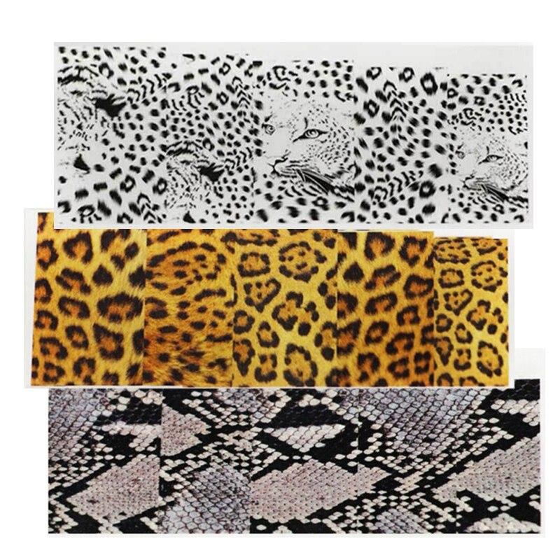 Diy Snow Leopard Nail Art: Aliexpress.com : Buy 1 Sheet DIY Designer Water Transfer