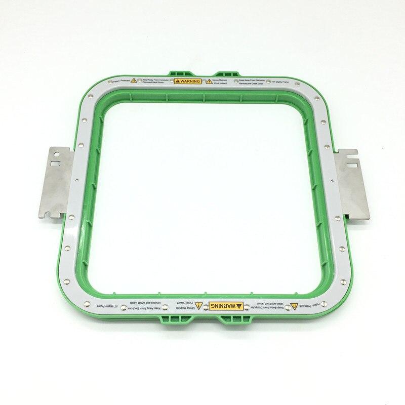 Tajima magnétique hoop broderie taille du cadre 10x10 pouces longueur totale 355mm tajima puissant hoop aimant cadres de broderie