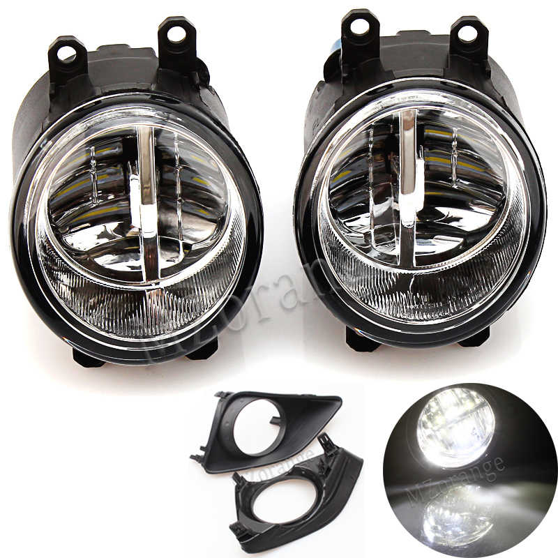 MZORANGE 2PCS Fog Light Lamp Assembly for TOYOTA AVENSIS AURIS RAV 4 III CAMRY for Corolla PRIUS YARIS 2003-2015 Led Fog Light