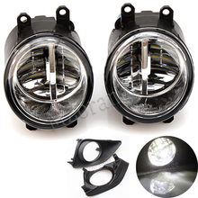 MZORANGE 2PCS Fog Light Lamp Assembly for TOYOTA AVENSIS AURIS RAV 4 III CAMRY for Corolla PRIUS YARIS 2003-2015 Led Fog Light beler front right side fog light lamp 81210 06050 35501 57l00 for toyota camry corolla yaris lexus gs350 gs450h lx570 lx570