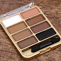 Nude Earth Naked Makeup Eyeshadow Palette 8 Color Shimmer Matte Brighten Eye Shadow Professional Cosmetic Mineral Waterproof