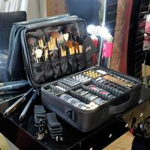 2017 Högkvalitativ Professionell Tom Makeup Organizer Bolso Mujer Kosmetisk Väska Rese Stor Kapacitet Förvaringsväska