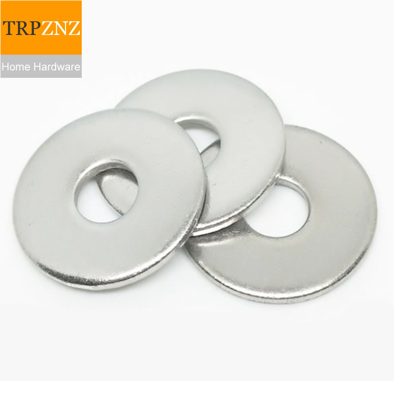 Increase the flat gasket Large washer Thicken GB96 galvanized Class A M4-M16 specifications Carbon steel image