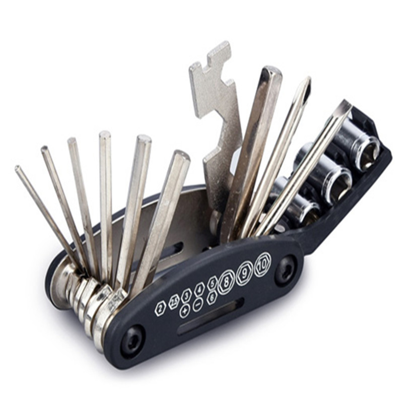Bicycle Cycle Puncture Bike Multi Function Tool Repair Kit Set