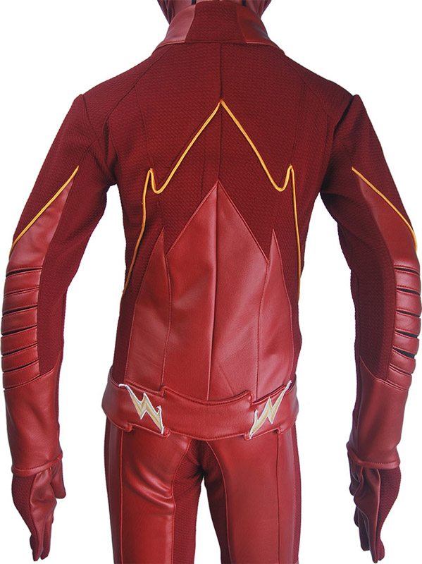 Enfants enfants le Flash saison 4 Barry Allen Flash cosplay costume de luxe déguisement d'halloween super héros costume - 3