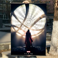 Doctor Strange HD Game Scrolls Movie Poster Wall Sticker Banners Hanging Waterproof Cloth Art Bedroom Living Room Decoration