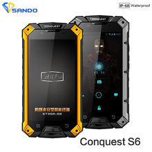 "Original S6 MTK8752 3 GB RAM 32 GB ROM 8 Octa Núcleos 5 ""CAT B15 4G LTE FDD teléfono Android ip68 Teléfono Resistente A Prueba de agua"