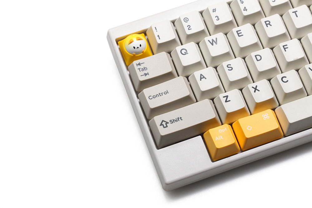 Image 4 - HAMMER BUBBLE CAT ARTISAN KEYCAP Compatible with Cherry MX Topre HHKB switches and clones black yellow green blue red pinkKeyboards   - AliExpress