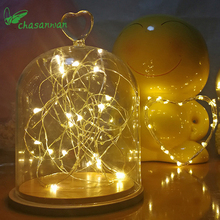 20 Leds Christmas Lights Indoor 2M String LED Copper Wire Fairy Lights for Festival Wedding Party Home Decoration Lamp Natal,T