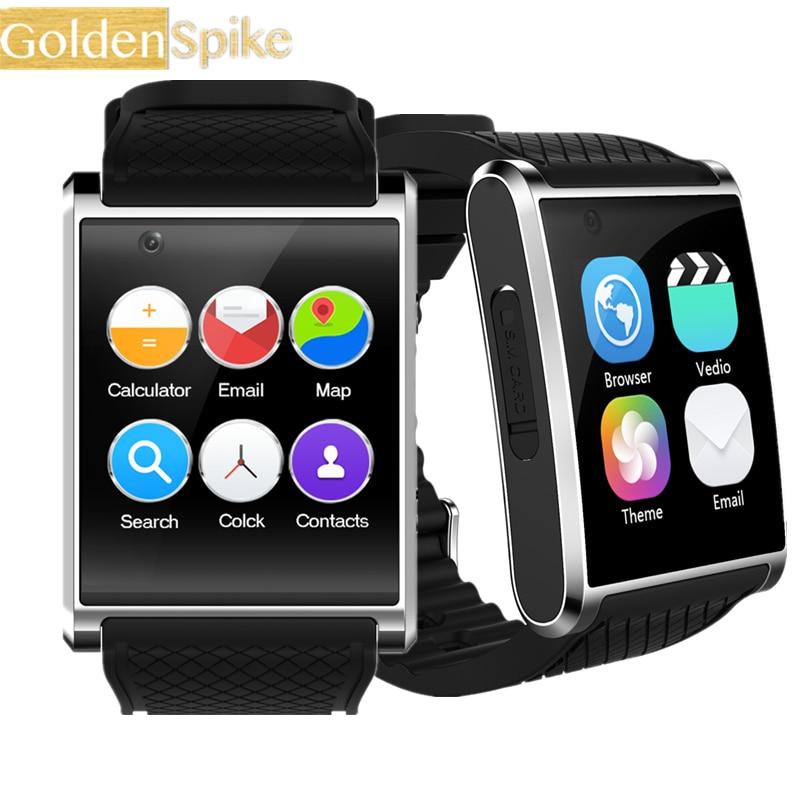 D'origine montre Smart watch X11 avec bluetooth GPS WiFi sport tracker sommeil moniteur à distance contrôle caméra 5MP vidéo soutien 3g Nano SIM