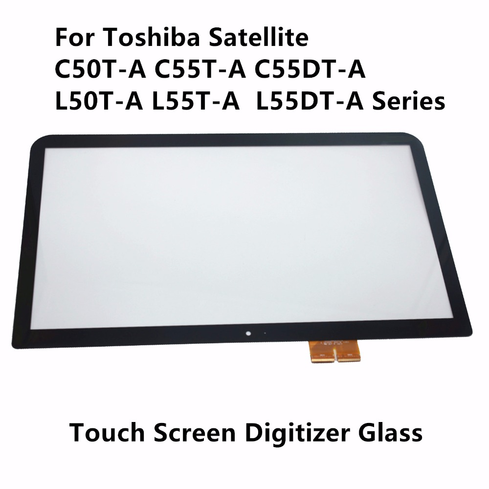 Genuine 15.6'' For Toshiba Satellite C55T-A C55DT-A C50T-A L50-A L55T L55DT Series V000321230 Touch Screen Glass Panel Digitizer new 15 6 for toshiba satellite c55dt a5241 c55dt a5306 c55dt a5307 c55dt a5106 c55dt a5305 touch screen glass panel digitizer