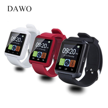 UWatch New Bluetooth Smart Watch Nice SmartWatch for iOS Android OS Sleep Reminder Fitness Tracker BT Camera Square WristWatch