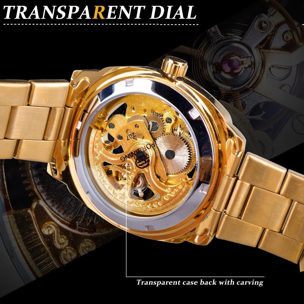 HTB1Q7HEkfImBKNjSZFlq6A43FXav Forsining 2018 Fashion Retro Men's Automatic Mechanical Watch Top Brand Luxury Full Golden Design Luminous Hands Skeleton Clock