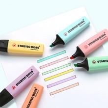 1pc Stabilo Boss Macaron series Highlighter Fluorescent pen Color highlighter Marker