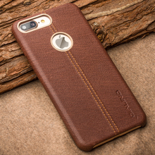QIALINO Genuine Leather Case for iPhone 7 7Plus