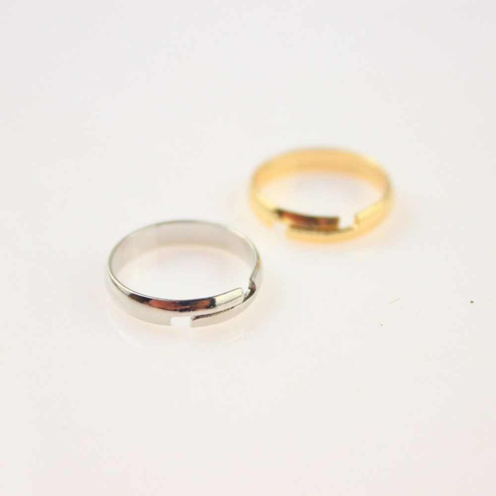 New Smooth Foot Ring Standard Inner Diameter 1.4cm Color Gold/ Silver Plated  Drop Shipping for men/women