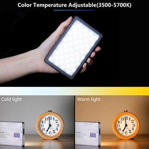 Image 4 - VIJIM VL 1 96 cuentas regulable luz LED para vídeo con pantalla Oled en la Cámara de luz de estudio de fotografía 3500k 5700k 2800mAh Luz de relleno