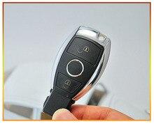 Новая замена изменения Smart Remote Оболочки чехол для Benz CL SLK CLK CES B класс 2 кнопки с ключа и Батарея держатель