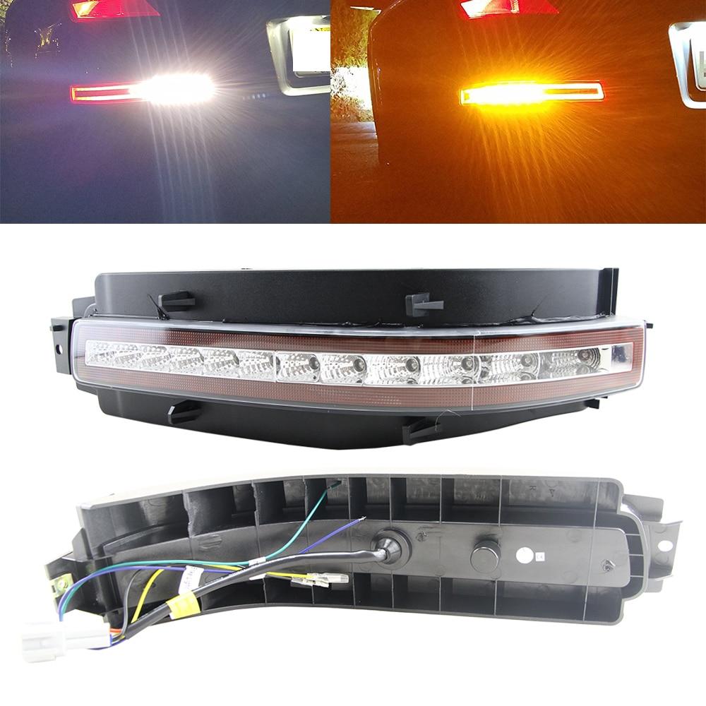 OEM Fit LED Rear Fog Assembly For Nissan 350Z Z33 2003 2004 2005 2006 2007 2008 2009 LED Turn Signal Backup Reverse Brake Light for vw golf 5 2004 2005 2006 2007 2008 2009 high quality 9 led left side front fog lamp fog light