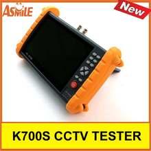 7 Inch K700S Camera Tester CCTV Tester Monitor Analog HD IP 1080P Hybrid Wifi Camera Tester 12V 2A Output
