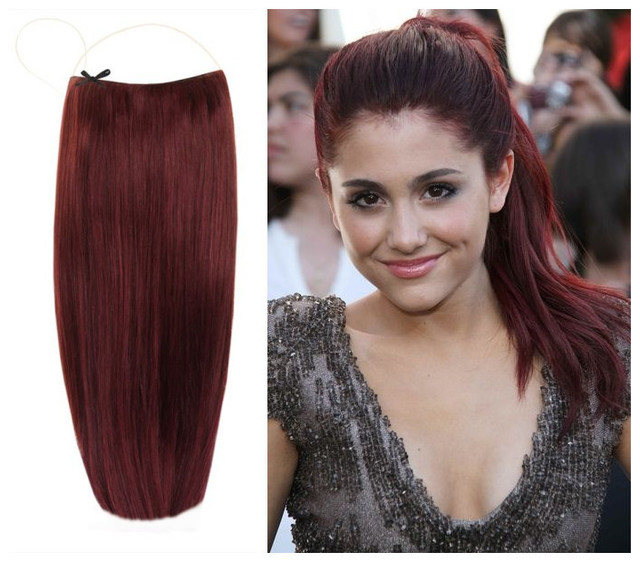 Halo Flip Hair Extensions Indian Remy Hair Extensions No Clips No