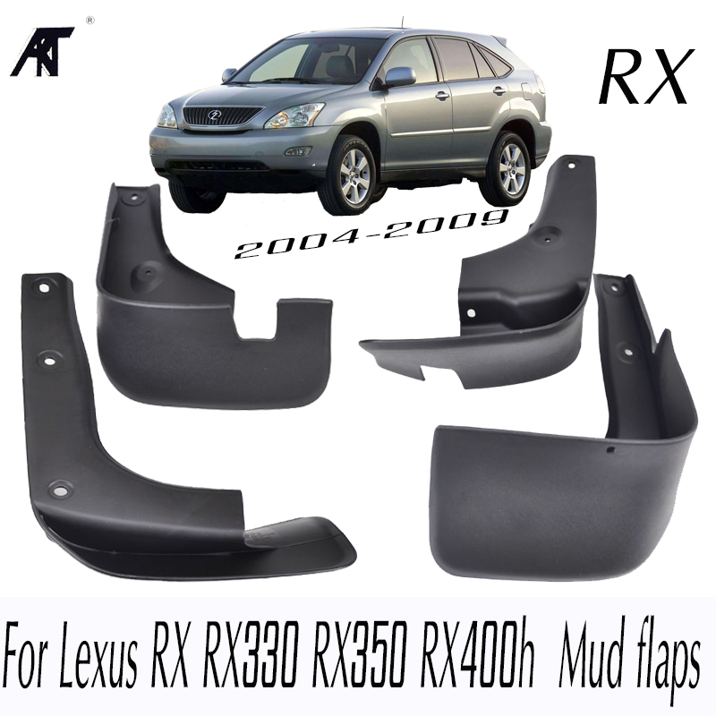 Car Mud Flaps For Lexus RX RX330 RX350 RX400h 2004 - 2009 Mudflaps Splash Guards Mud Flap Mudguards Fender 2005 2006 2007 2008 стоимость