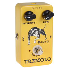 JOYO JF-09 Tremolo Guitar Pedal with True Bypass and Distinctive Sounds