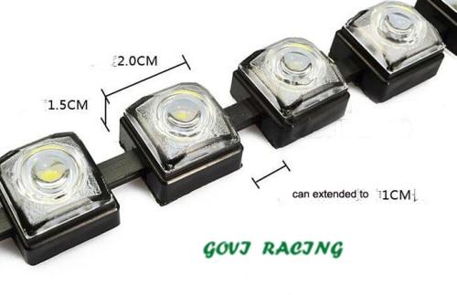 12 LED Eagle ματιών COB DRL αυτοκίνητο Daytime - Φώτα αυτοκινήτων - Φωτογραφία 6
