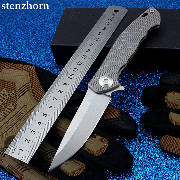 Stenzhorn 2017 Time-limited New High Quality D2 Bearing Knife Self-defense Outdoor Folding With Hardness Survival Mountain Fruit high quality army survival knife high hardness wilderness knives essential self defense camping knife hunting outdoor tools edc