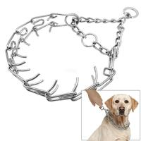 Professionelle Metall Pinch Hundekette Kragen Prong Pet Choke Kragen-in Halsbänder aus Heim und Garten bei