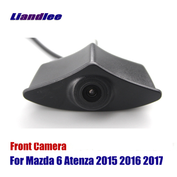 Liandlee AUTO CAM For Mazda 6 Atenza 2015 2016 2017 Car Front View Logo Embedded Camera  ( Not Reverse Rear Parking )
