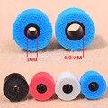2 pcs/1 pairs 3.0mm Calibre Ear Pads/tampa Cumprir T100 (S M L) dicas de espuma de ouvido fone de Ouvido Esponja de Espuma de memória almofadas de ouvido para fones de ouvido