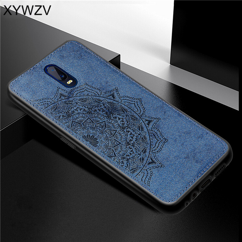 Image 3 - For OPPO R17 Case Shockproof Cover Soft Rubber Silicone Luxury Cloth Texture Phone Case For OPPO R17 Cover For OPPO R17 6.4 inch-in Fitted Cases from Cellphones & Telecommunications