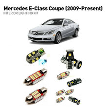 Led interior lights For mercedes e-class coupe 2009+  23pc Led Lights For Cars lighting kit automotive bulbs Canbus цена