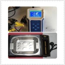 BST501 автомобильный топливный инжектор/Топливный насос/кондиционер компрессор тестер/чистящий инструмент и мини ультразвуковая ванна 6 каналов